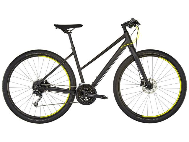 Cube Hyde - Vélo de ville - Trapez noir